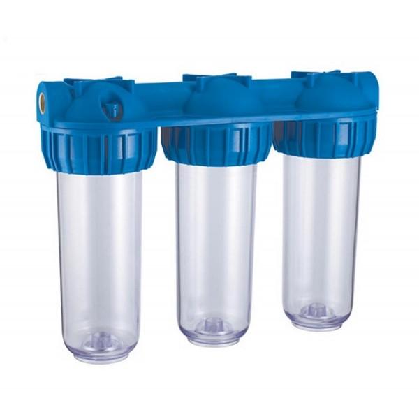 Daire Girişi Su Yumuşatma Sistemi (üçlü eko)