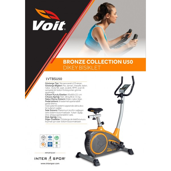 VOİT U50 BRONZE COLLECTION DİKEY BİSİKLET