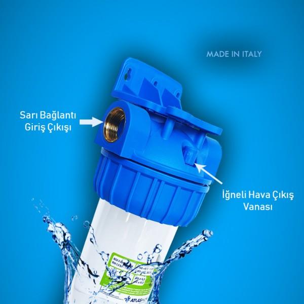 Daire Girişi Su Yumuşatma Sistemi (tekli eko)